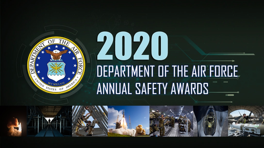 2020 Department of the Air Force Annual Safety Awards graphic
