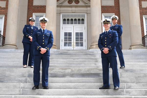 Coast Guard Academy Cadets win Humanitarian Law Competition