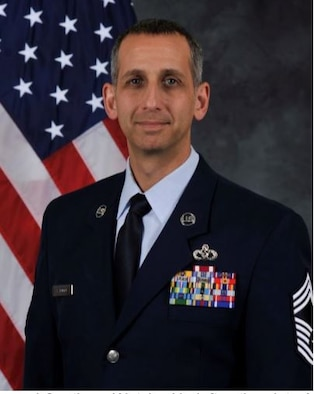 Chief Master Sergeant William Sarocco Official Portrait