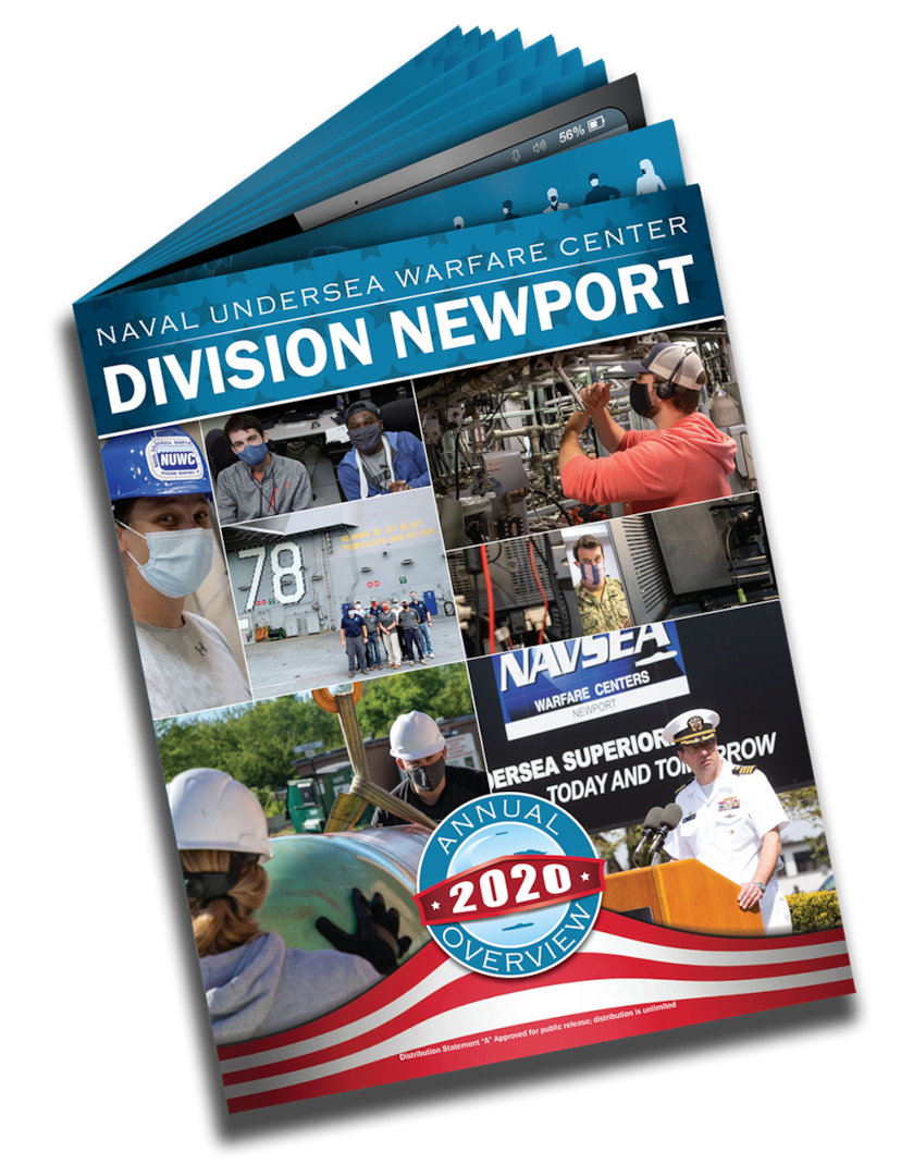2020 Annual Overview highlights NUWC Division Newport successes during a challenging year