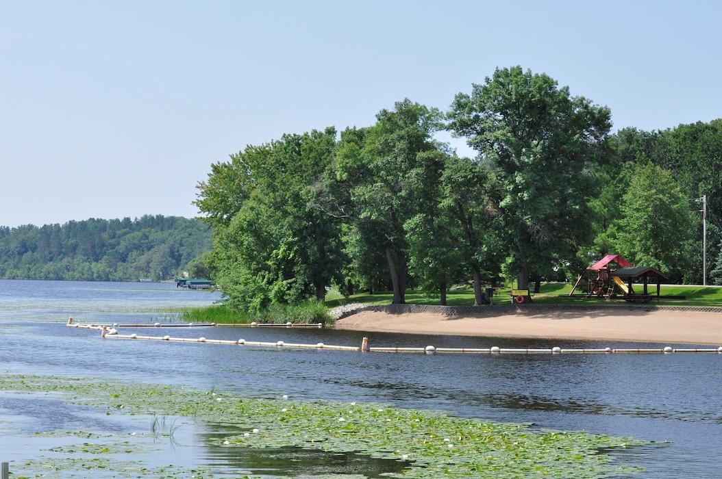 Sandy Lake beach