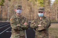 Brothers Dylan and Ryan Martel serve together in the New Hampshire National Guard as specialists in the 3643d Brigade Support Battalion and the 744th Forward Support Company, respectively.