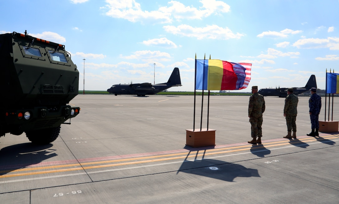 NATO ally, Romania, hosts U.S. Joint Forces for Dynamic Force Employment training near the Black Sea