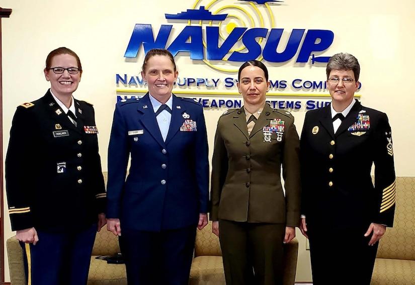 NAVSUP WSS Hosts Women's History Month Leadership Panel ...