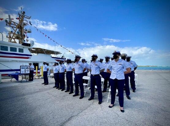 U.S. Coast Guard commissions 42nd Sentinel-Class cutter in Key Wes