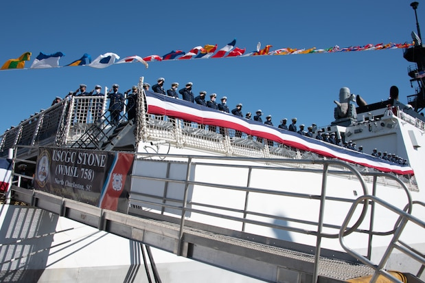 Coast Guard Cutter Stone Commissioning Ceremony