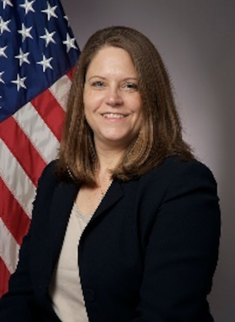 """IMAGE: Shellie Clift is the Strategic and Computing Systems Department head at Naval Surface Warfare Center Dahlgren Division (NSWCDD). She serves as the NSWCDD senior diversity champion for federal women's programs. She noted Lean In Circles established in 2019 as one example that has helped grow women's confidence to compete for jobs. """"It is about making women aware that they're capable,"""" she said."""