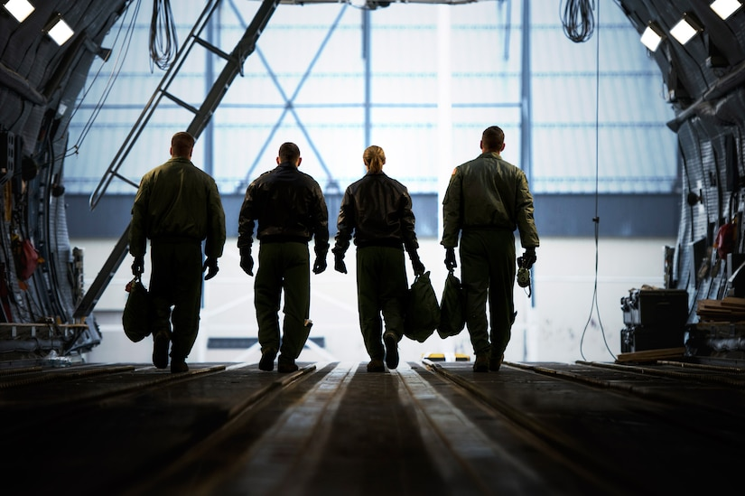 Loadmasters travel the globe delivering troops, cargo wherever needed