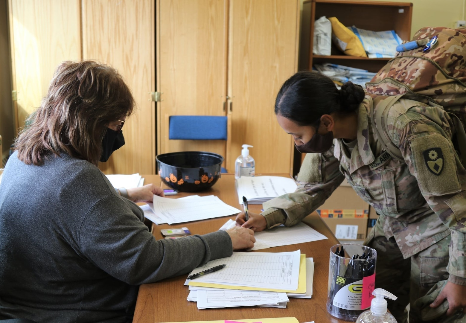 Greely welcomes Rotational Forces from California National Guard