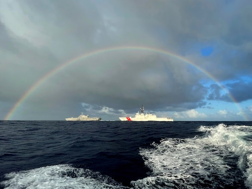 Coast Guard Cutter Kimball returns home from expeditionary patrol in the Pacific