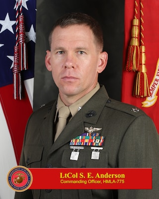 COMMANDING OFFICER, MARINE LIGHT HELICOPTER ATTACK SQUADRON 775