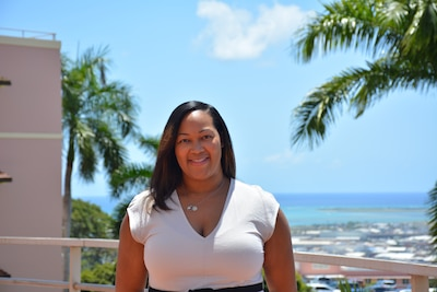 Dr. (Maj.) Candace Giles, chief of obstetrics at Tripler Army Medical Center