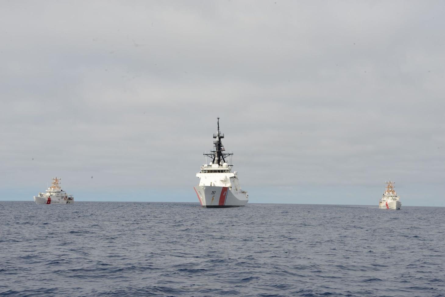 U.S. Coast Guard; USCGC Hamilton (WMSL 753)