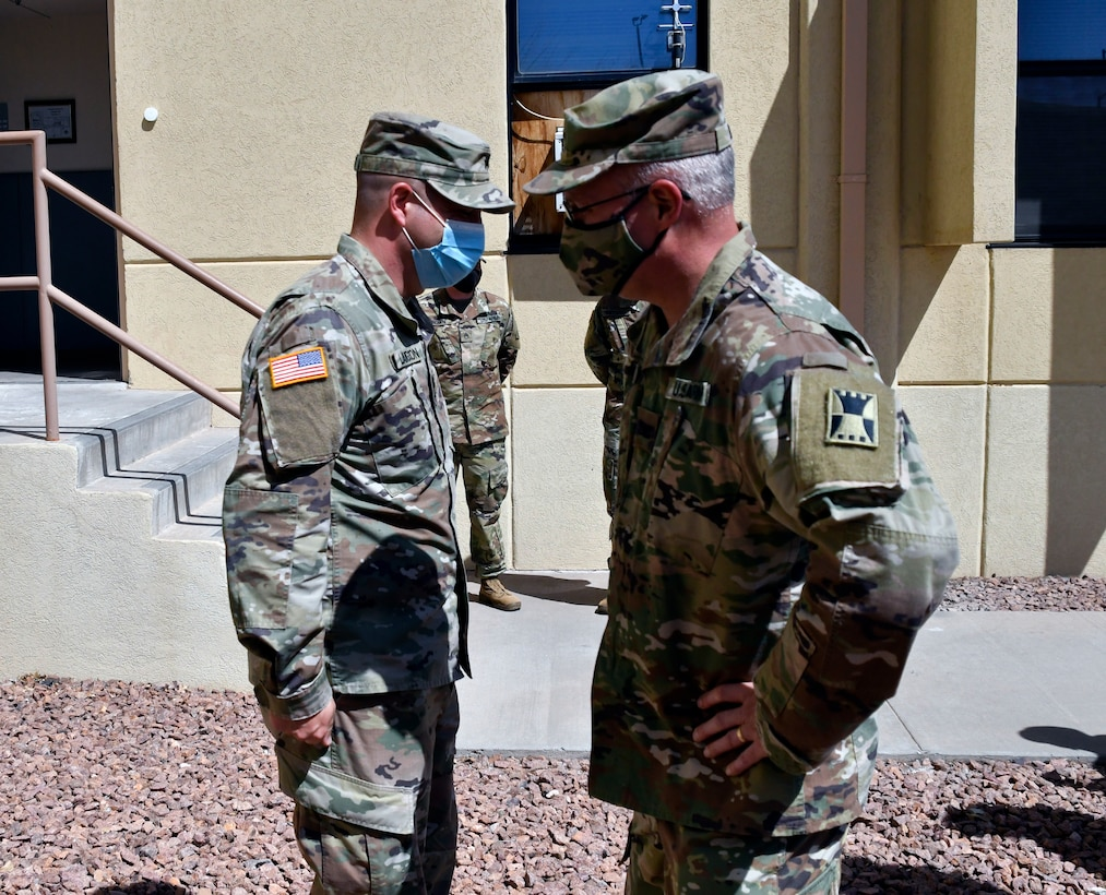 St. Louis native and 647th Regional Support Group (Forward) Soldier promoted to sergeant
