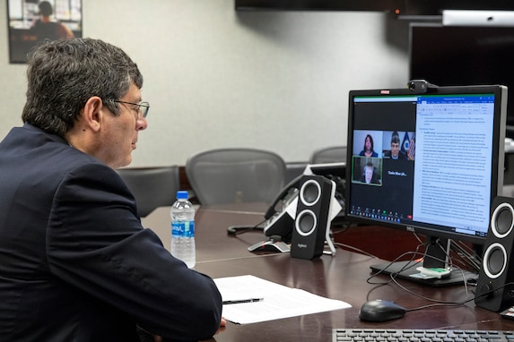 DNRO Dr. Chris Scolese Speaks with Virginia Tech Students