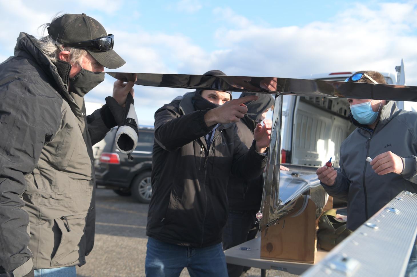 NRL's Hybrid Tiger UAV Soars at Demonstration