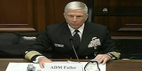 Screenshot of the commander of U.S. Southern Command, Navy Adm. Craig Faller, testifying before the House Armed Services Committee, April 14, 2021.