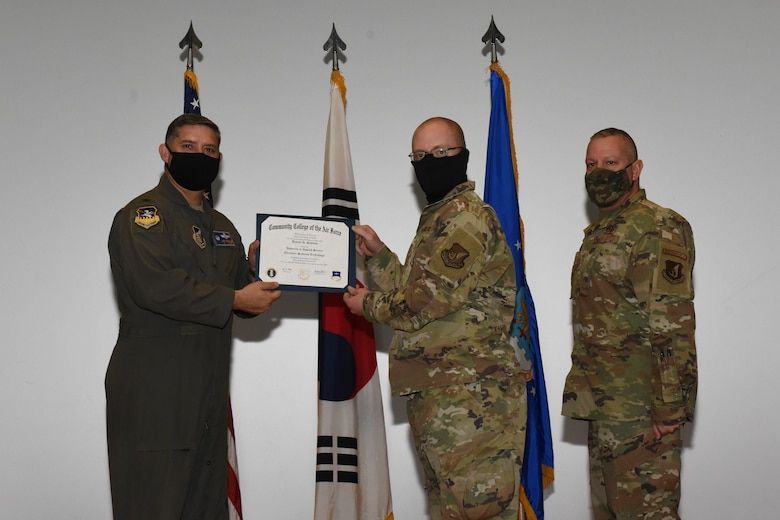 CCAF graduation ceremony honors enlisted Airmen