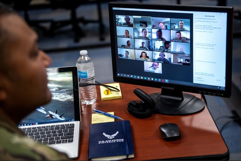Virtual professional development training will be available to all Air Force Life Cycle Management Center personnel during this quarter's Focus Week, April 26-30. Dozens of courses will be offered, from acquisition-focused lectures to discussions on leadership and personal growth. (U.S. Air Force photo by Sarayuth Pinthong)