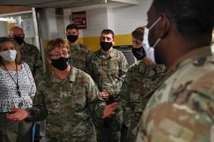 U.S. Air Force Surgeon General Visits Brooklyn CVC