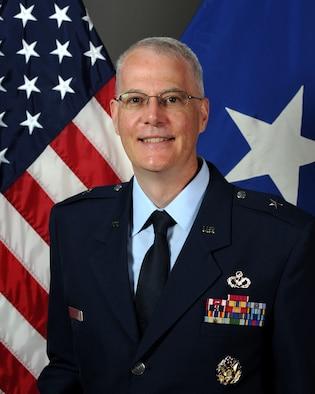 This is the official portrait of Brig. Gen. Mark V. Slominski.