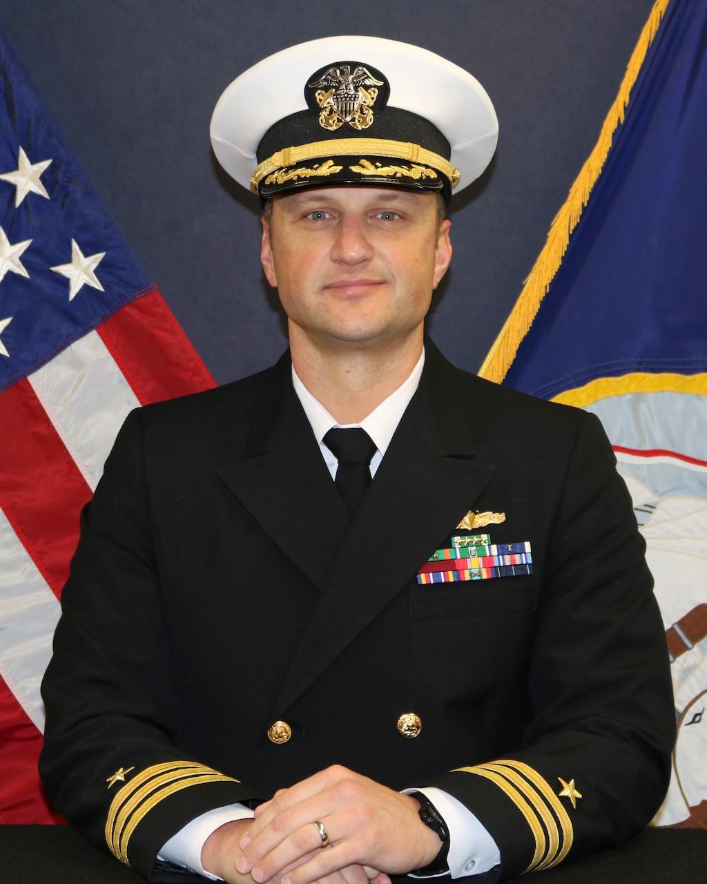 CDR Travis Dvorak
