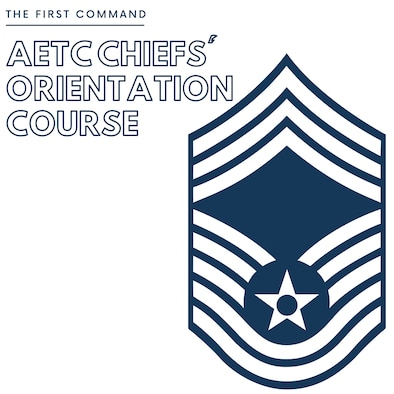 Graphic of AETC Chiefs' Orientation Course