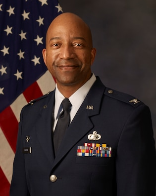 Official photo of Col. DORROH, 446th Mission Support Group commander