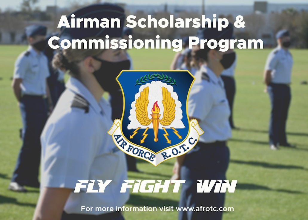 Airman Scholarship and Commissioning Program graphic.