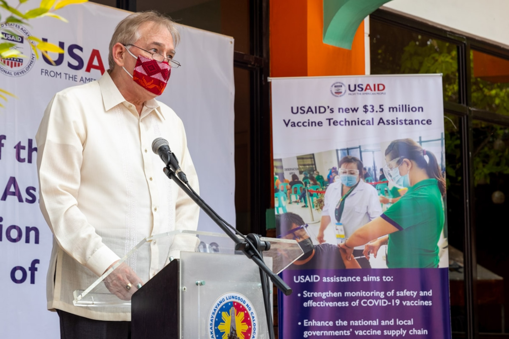 U.S. Provides Php170 Million to Support COVID-19 Vaccine Deployment in the Philippines