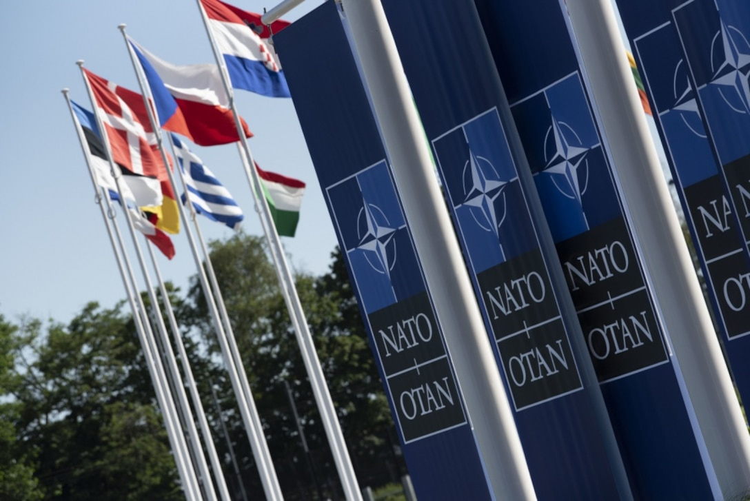 Nato and flags