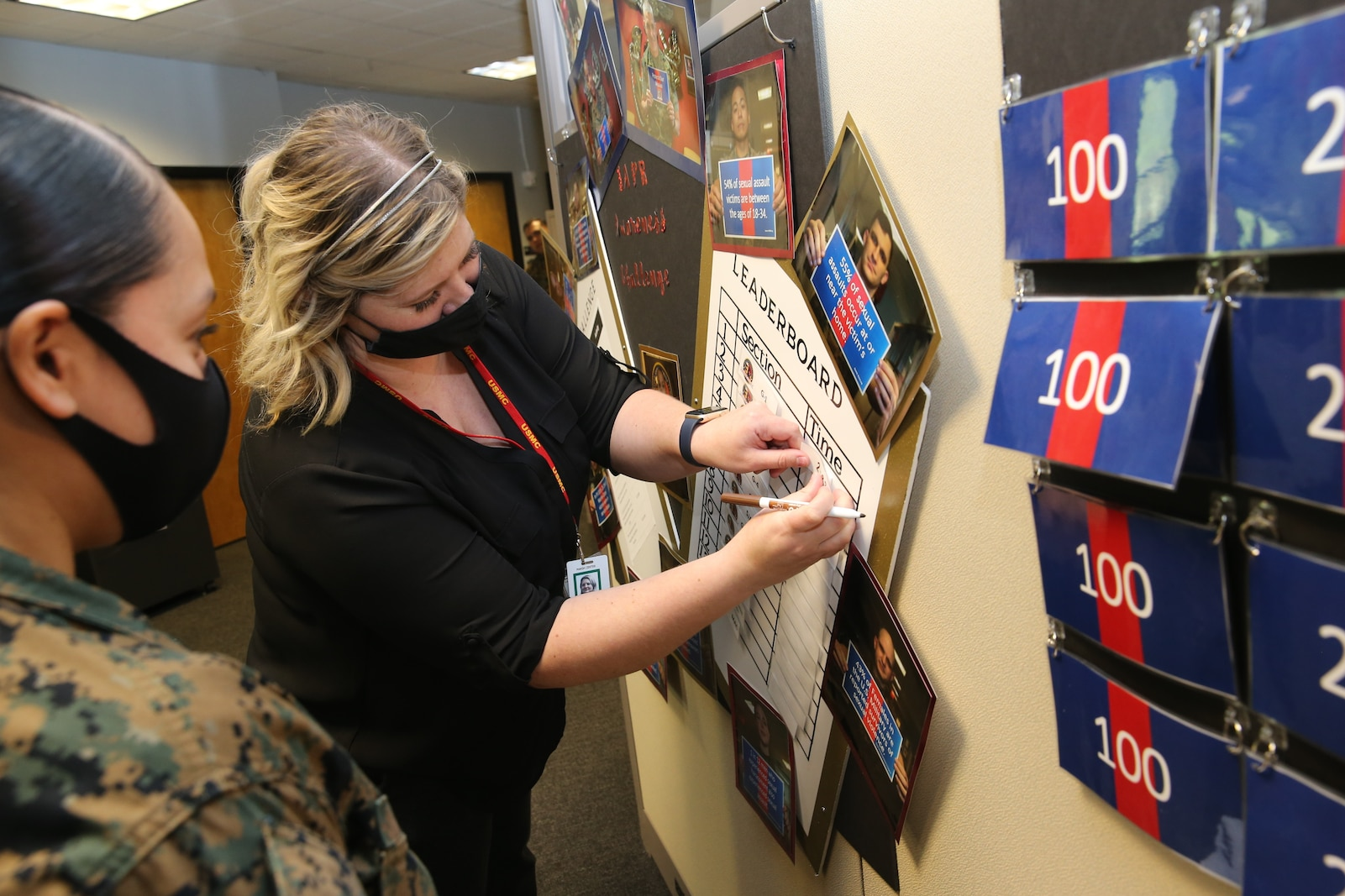 The Marine Corps Recruiting Command Sexual Assault Prevention and Response team launched several initiatives in conjunction with the Marine Corps' 17th Annual Sexual Assault Awareness and Prevention Month, April 2021. Zuzy Hall, the MCRC Sexual...