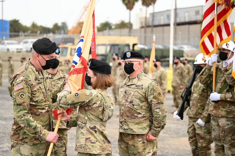 311th Sustainment Command (Expeditionary) change of command