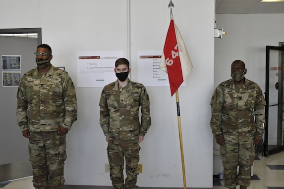 Farmington, Mo., native and 647th Regional Support Group (Forward) Soldier promoted to Sergeant