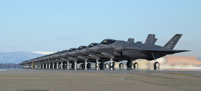 Eielson AFB generates F-35A fleet for Arctic Gold 21-2