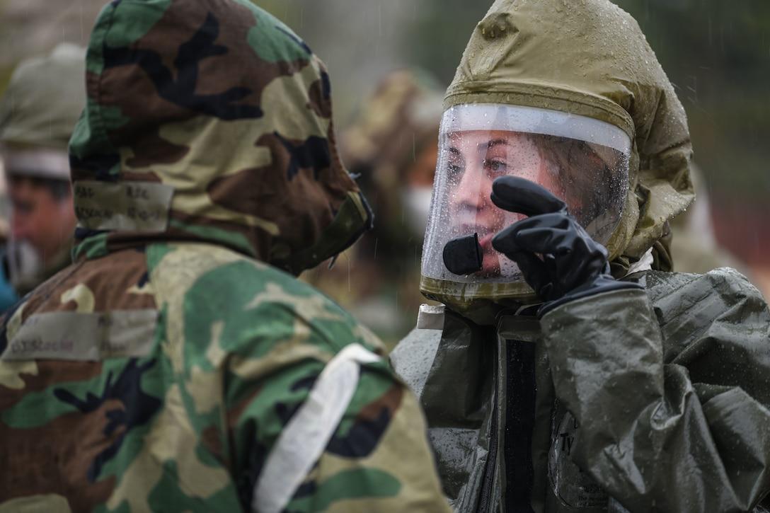 31st FW kicks-off base defense readiness exercise