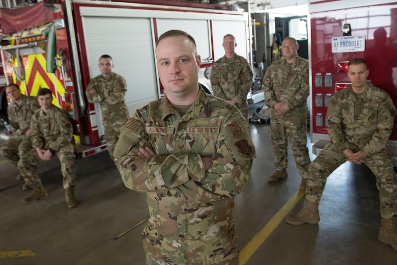 Staff Sgt. Mitchell Alerding is a lead firefighter for the 167th Civil Engineering Squadron and the 167th Airlift Wing's Airman Spotlight for April 2021.