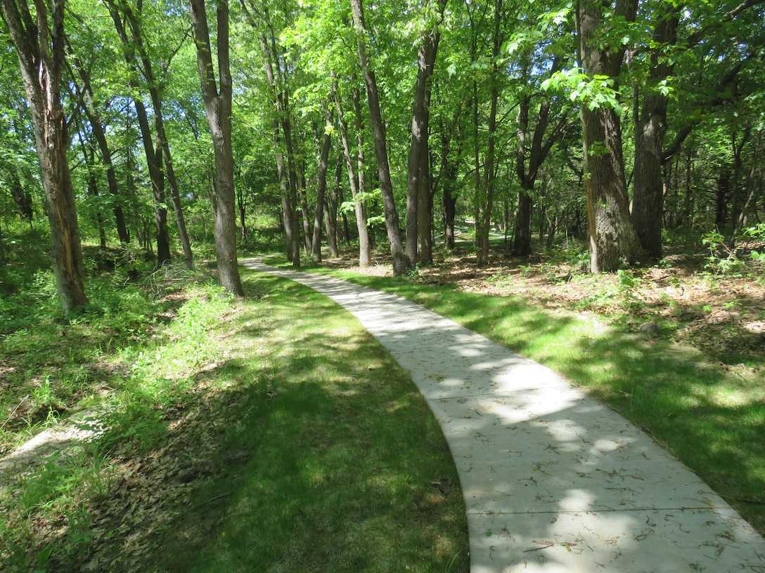 The trail also holds 8 fitness stations with varying degrees. We hope you enjoy this area, as we cannot thank our partners and stakeholders enough for the work they did to provide this multi-use recreational area.