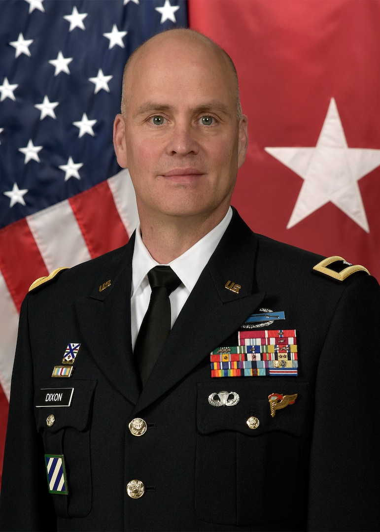 On April 9, Illinois Army National Guard Brig. Gen. Henry Dixon was selected as the Assistant Chief of Staff, Director of Operations (G3), for the U.S. Army Central Command.