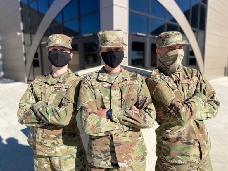 The Vandenabeele siblings graduated Basic Military Training just three weeks apart.