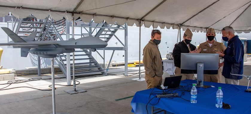 Inaugural Unmanned Battle Problem 21 begins