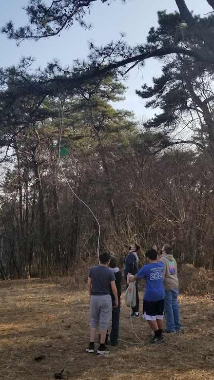 FED employees volunteer for international scout troop competition