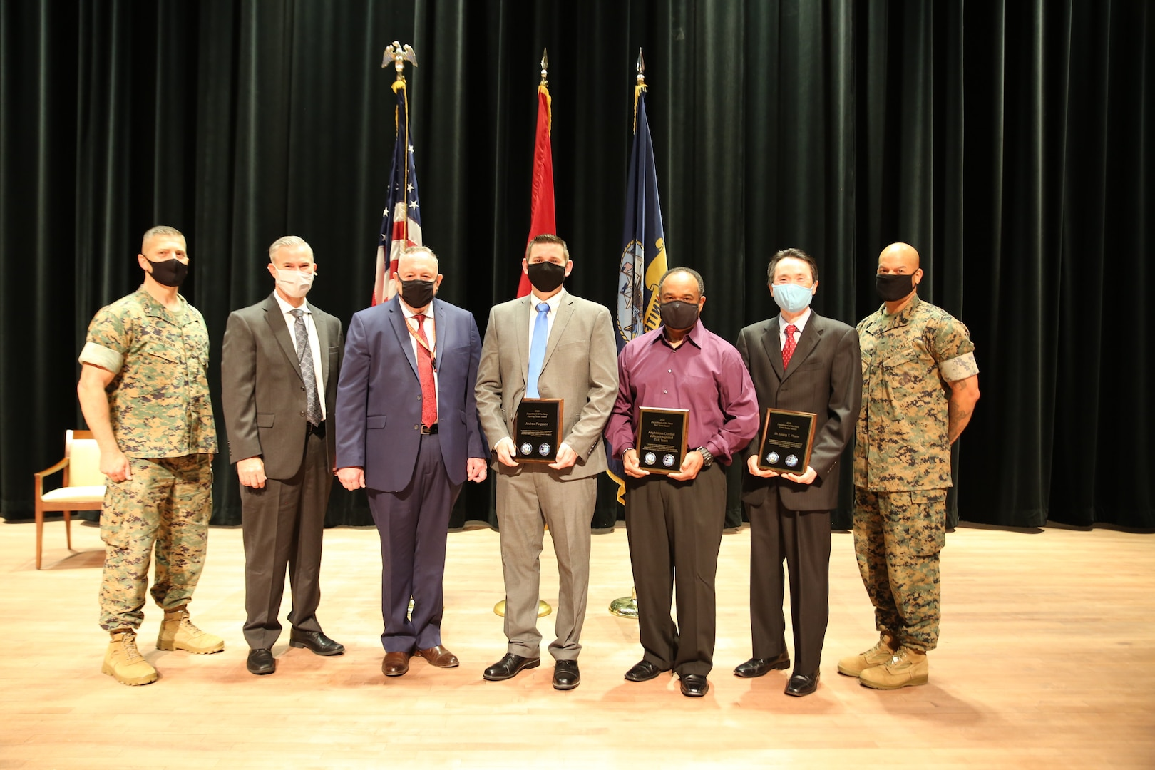 DON recognizes MCSC employees for Test and Evaluation efforts