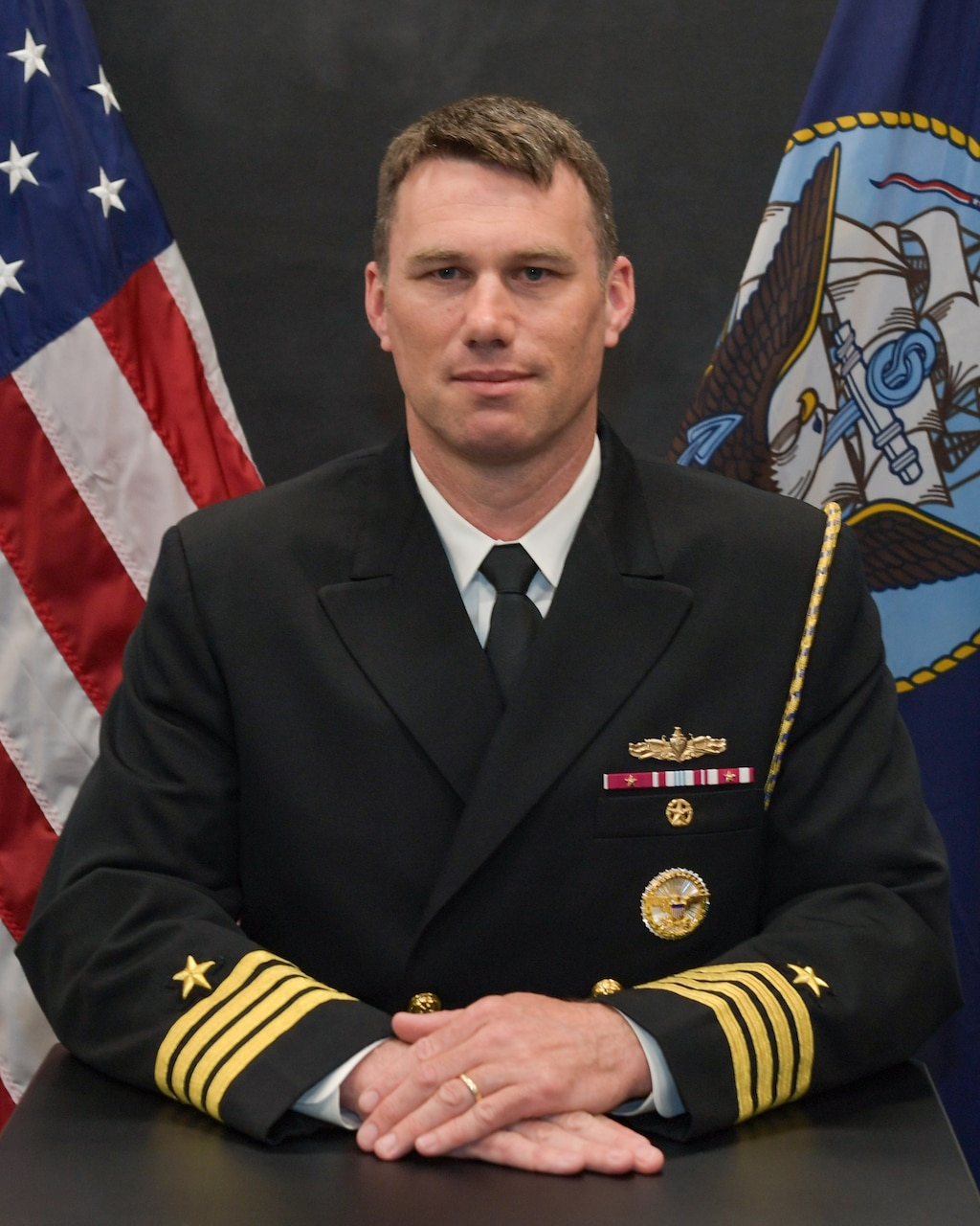 Studio portrait of Capt. Todd Whalen