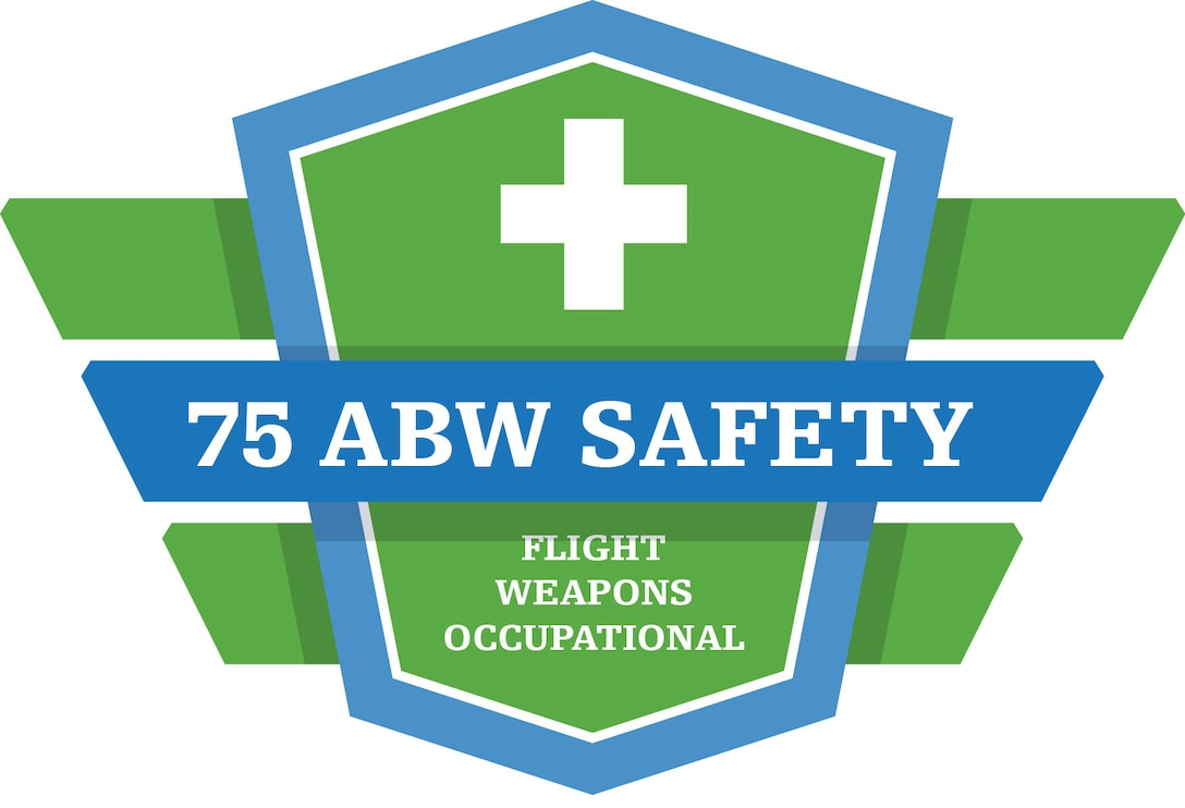 Logo for 75th Air Base Wing Safety.