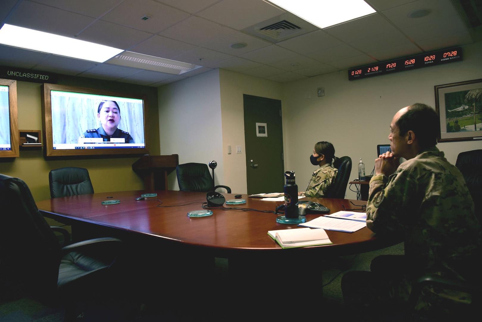 Philippines, US Conducts Balikatan Virtual Global Health Engagement