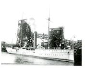 A photo of U.S. Revenue Cutter Algonquin, no date.