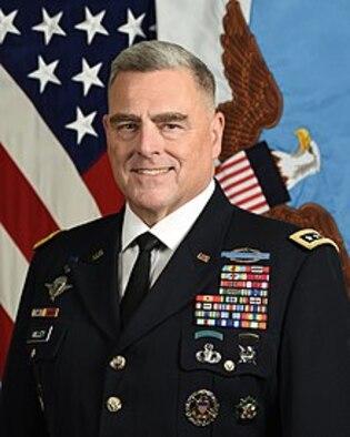 An official photograph of Gen. Mark Alexander Milley.