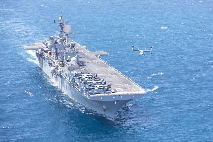 JTF-Quartz Weapon System – USS Makin Island (LHD 8)