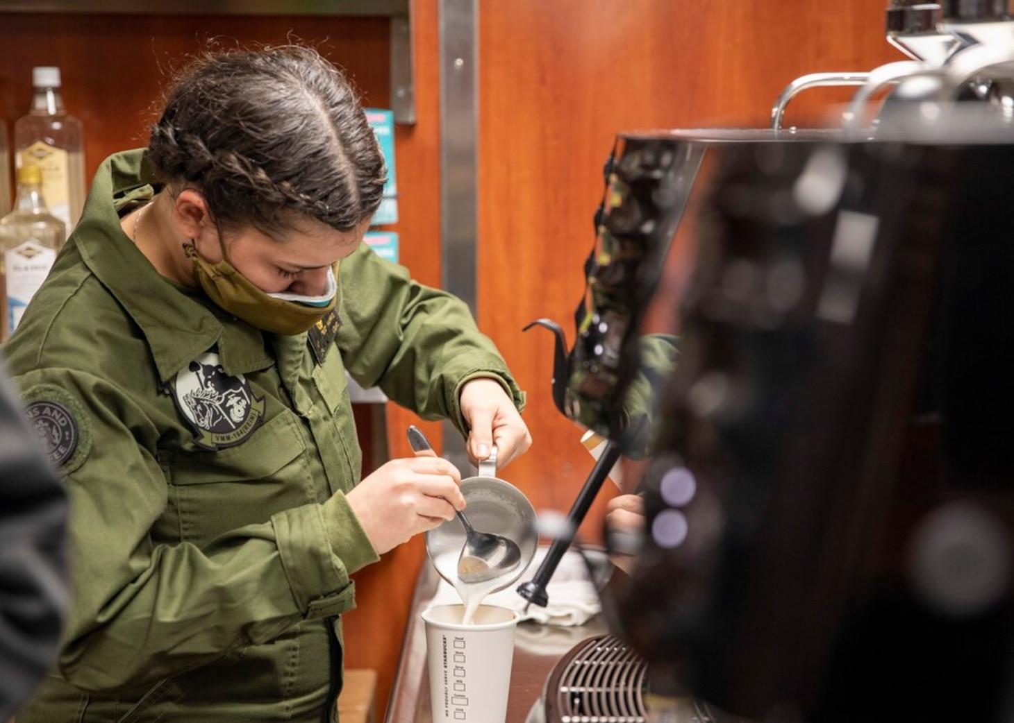 Ocho Café Opens on Makin Island